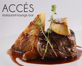 Acces restaurant